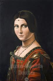 83. Leonardo Da Vinci And Ginevra de' Benci | Let's Talk ...