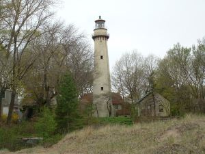 aaIllinois Grosse Point Lighthouse